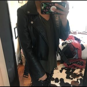JOES leather jacket